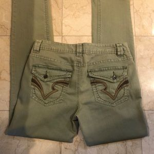 INC international concepts light green jeans Sz 8